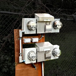 power and water on-site